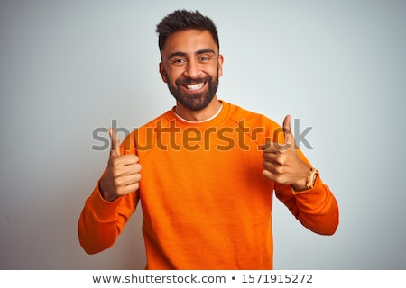 Prison inmate isolated on the white Stock photo © Elnur