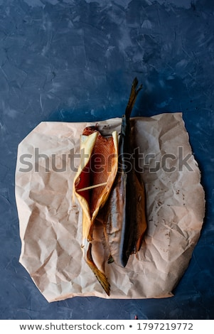 smoked fish stock photo © laciatek