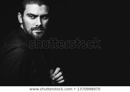 isolated elegant man stock photo © fuzzbones0