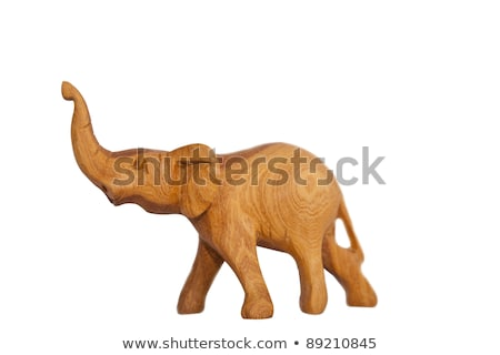 African handcrafts wooden crafts handcarved animals Stock photo © lunamarina