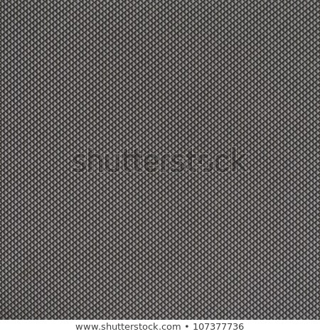Czarny plastikowe diamentów rząd streszczenie Zdjęcia stock © Zebra-Finch