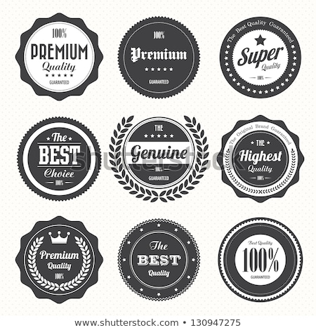 retro badge stock photo © pakete