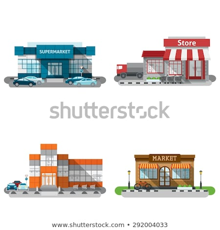 Warehouse in shopping center Stock photo © Paha_L