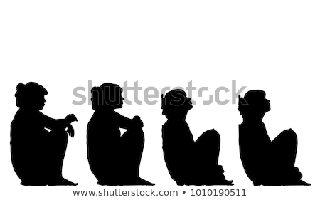 woman leaning on the wall and thinking about something stock photo © deandrobot