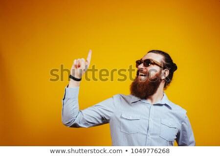 man poiting finger at the camera stock photo © Patramansky