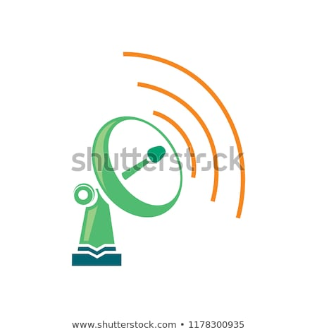 Wireless Network Symbol of wifi icon, vector illustration. stock photo © jabkitticha