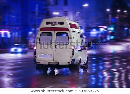Ambulance car at the night Stock photo © Ustofre9