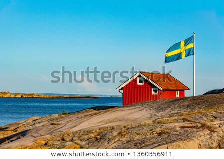 Cottage in Sweden, Scandinavia  Stock photo © mikdam