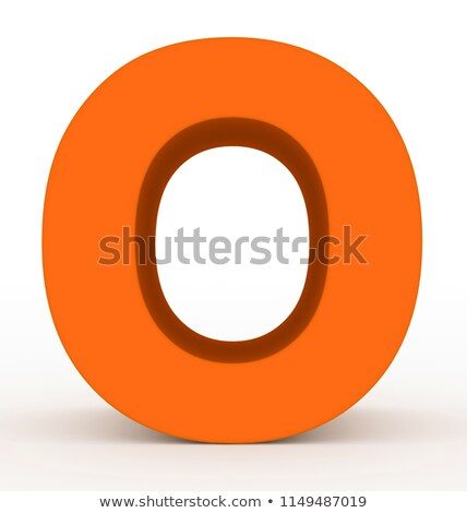 A letter O for orange Stock photo © bluering