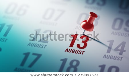 13th August Stock photo © Oakozhan