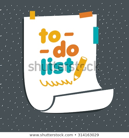 To do list text on school board Stock photo © fuzzbones0