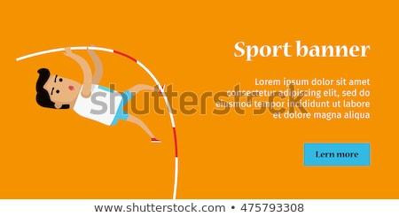 strand · springen · illustratie · kinderen · springen · zee - stockfoto © robuart