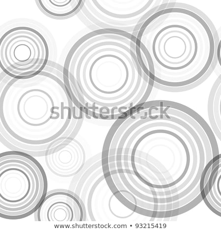 vector seamless black and white concentric circles pattern stock photo © creatorsclub
