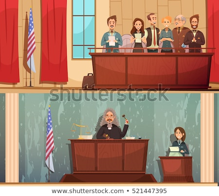 law and order horizontal banners stock photo © -talex-