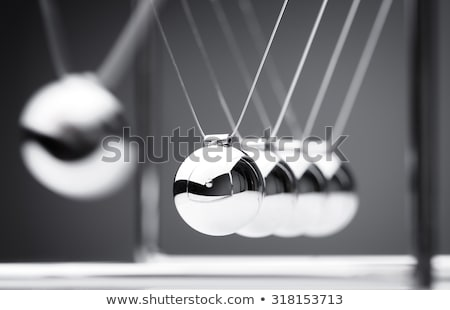 Wieg 3d illustration behoud stuwkracht energie metaal Stockfoto © idesign