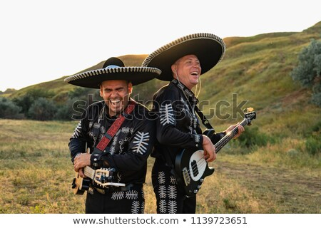 Mariachi band at sunset Stock photo © adrenalina