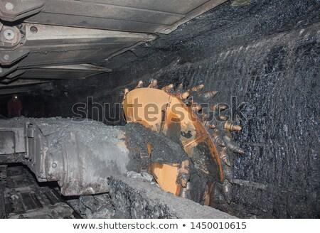 ドラム 石炭 マシン ベクトル スケッチ ストックフォト © RAStudio