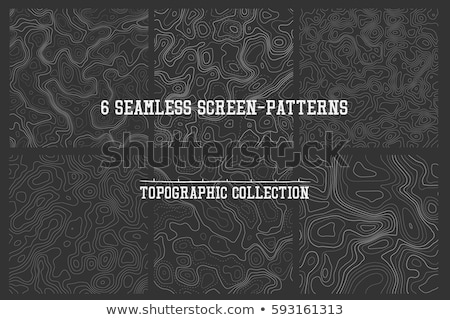 Seamless topographic map unknown territory. Stock photo © Vertyr