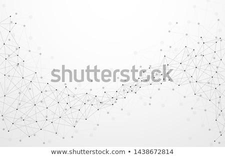 Abstrato linhas geométrico azul construção luz Foto stock © SwillSkill