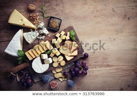 jute · zak · oud · hout · tabel · hout · natuur - stockfoto © digifoodstock
