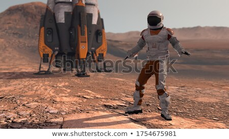 colonization of mars stock photo © albund