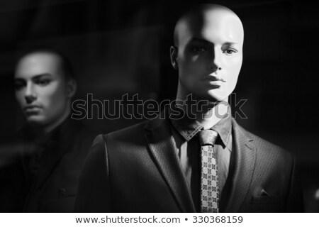 Boutique manequim masculino descobrir retrato roupa Foto stock © stevanovicigor