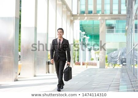 sudeste · Asia · empresario · caminando · atractivo - foto stock © szefei