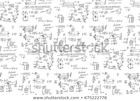 Aprender geometria quadro-negro pequeno vermelho Foto stock © tashatuvango