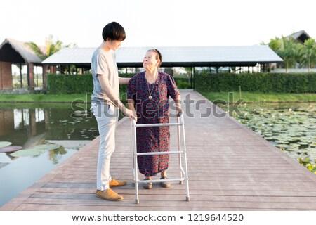 Ajuda Japão diversidade mãos ajudar vetor Foto stock © cienpies
