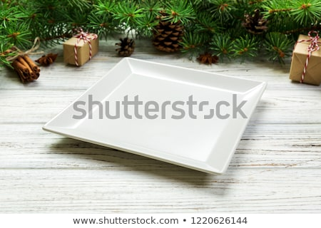 festive dish served on Christmas Stock photo © ssuaphoto
