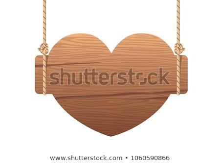 fából · készült · lánc · izolált · fehér · textúra · fa - stock fotó © oakozhan