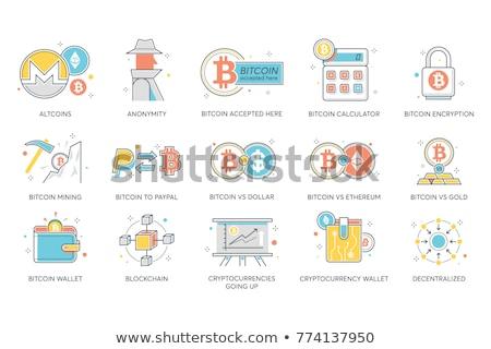 Ethereum Calculator Flat Icon Stock photo © ahasoft