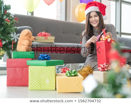 30 December  Day gift packing Stock photo © Olena