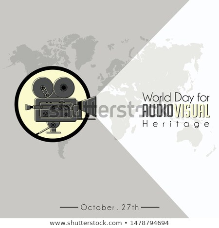 27 october World Day for Audiovisual Heritage Stock photo © Olena
