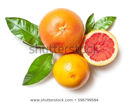 orange and grapefruit isolated on white background Stock photo © M-studio