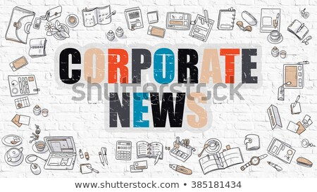 Corporate Policies in Multicolor. Doodle Design. Stock photo © tashatuvango