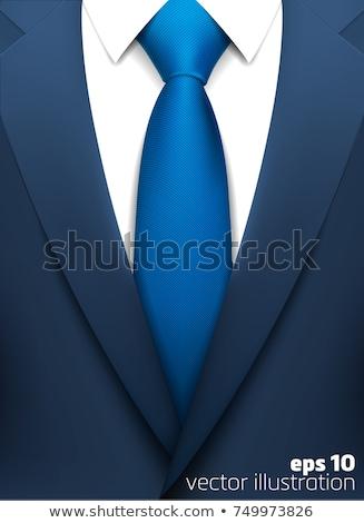 vector · grijs · business · pak · stropdas · eps10 - stockfoto © ekzarkho