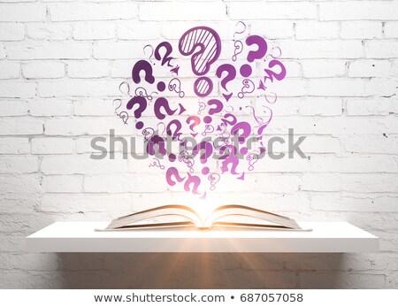 Elearning Solutions Drawn on White Brick Wall.  Stock photo © tashatuvango