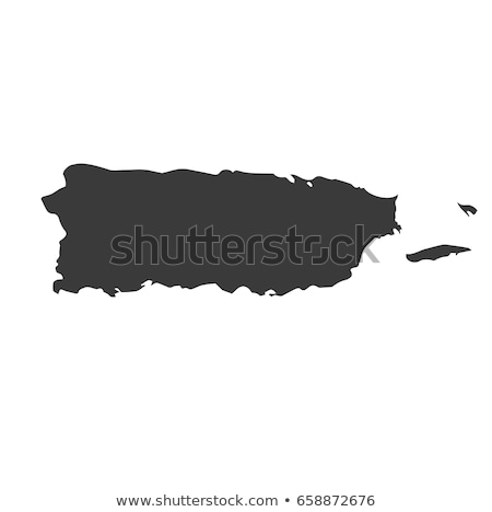 Map of Puerto Rico Stock photo © rbiedermann
