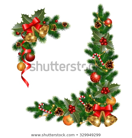 Noël · star · forme · vecteur · fichier - photo stock © popaukropa