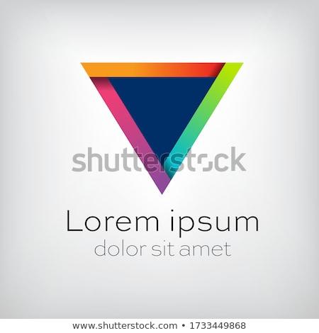 donkere · moderne · visitekaartje · ontwerpsjabloon · abstract · corporate - stockfoto © articular