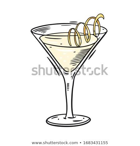 cocktails · partij · glas · kunst · zomer - stockfoto © robuart