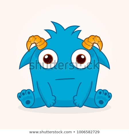 Confused Cartoon Troll Stock photo © cthoman