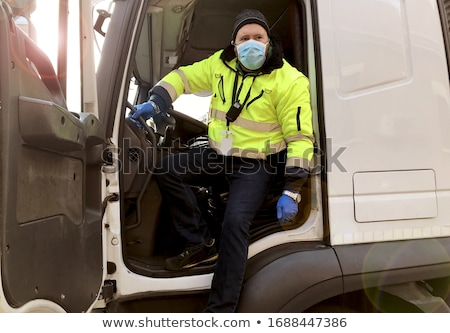 camion · motore · diesel · isolato · bianco · potere · acciaio - foto d'archivio © ssuaphoto