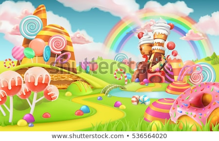 Stock photo: Cartoon Fairy Tale Dreaming