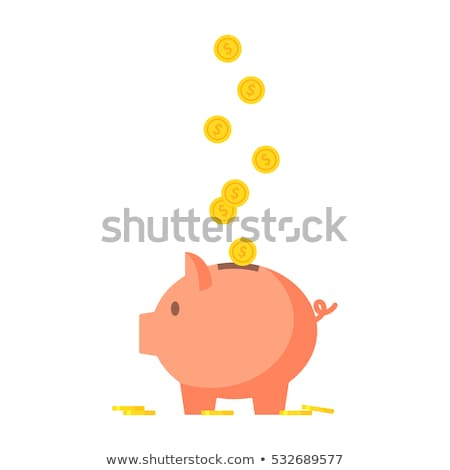 Money Bank Deposit Coins Illustration Stock photo © lenm