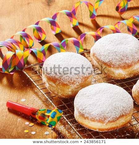 Stock photo: Colorful props and treats for a New Years party