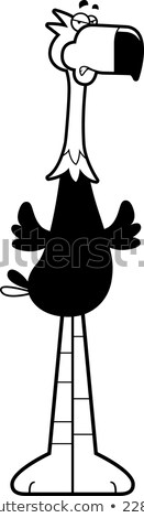 Angry Cartoon Terror Bird Stock photo © cthoman