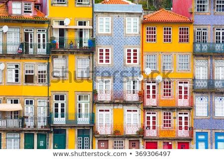 ポルトガル 美しい アーキテクチャ 旧市街 家 建物 ストックフォト © joyr