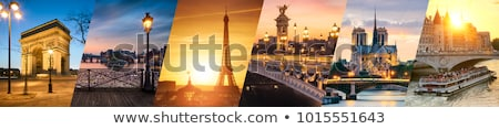 パリジャン · 川 · 表示 · 写真 · フランス - ストックフォト © boggy